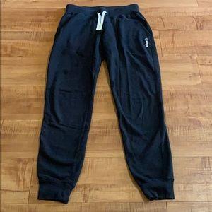 Black REEBOK Sweat Pants Joggers XS